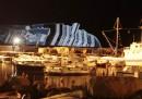 Costa Concordia, le foto di martedì