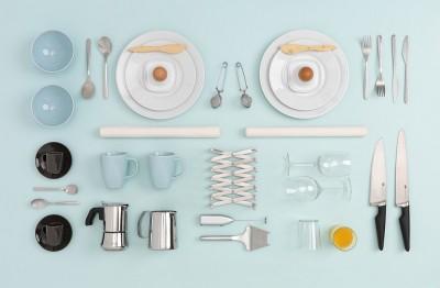 Composizione di una cucina