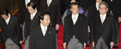 Il rimpasto del governo giapponese