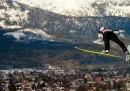 Volare con gli sci
