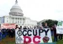La protesta di Occupy a Washington