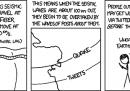 La striscia di xkcd su Twitter e terremoto