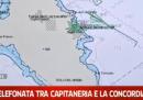 L'audio della prima comunicazione tra la Capitaneria di Porto e la Costa Concordia