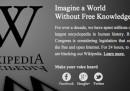 Perché oggi Wikipedia è oscurata