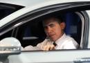 Le foto di Obama al Washington Auto Show