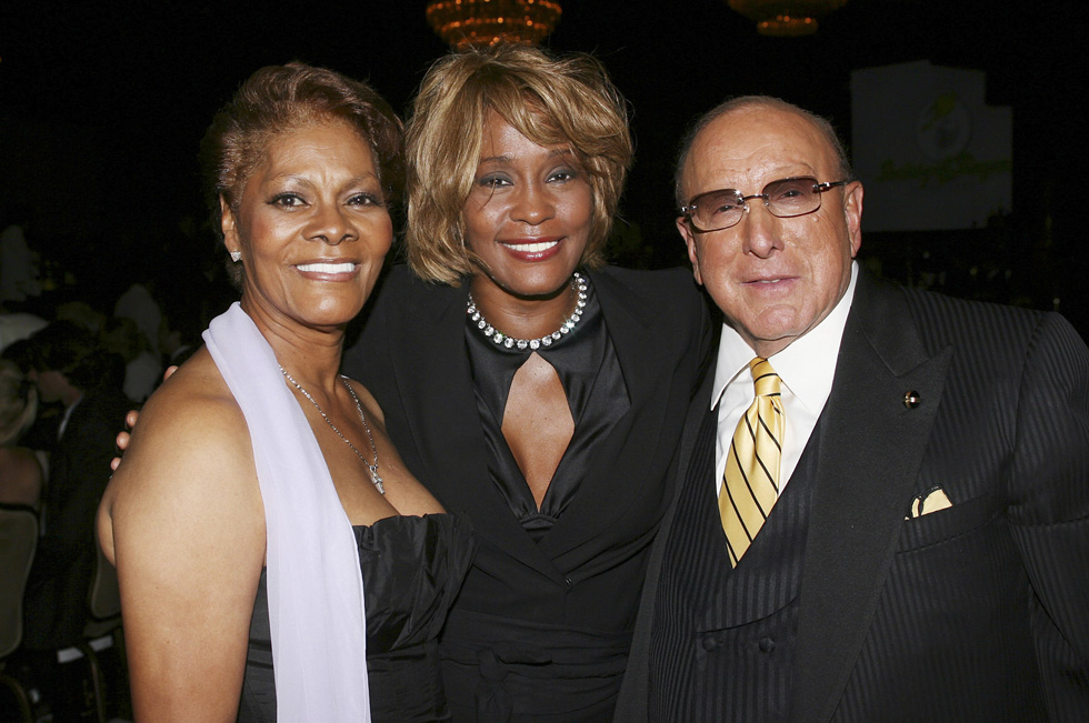 dionne warwick whitney houston relationship with clive davis