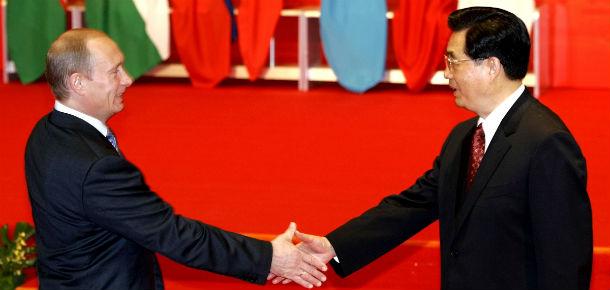 Hu Jintao Putin
