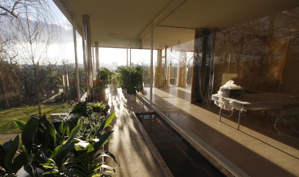 le foto di villa tugendhat a brno il post. Black Bedroom Furniture Sets. Home Design Ideas