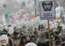 Le manifestazioni di oggi in Russia