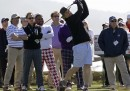 Le foto di Bill Murray che gioca a golf
