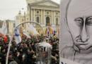 Le proteste di oggi in Russia