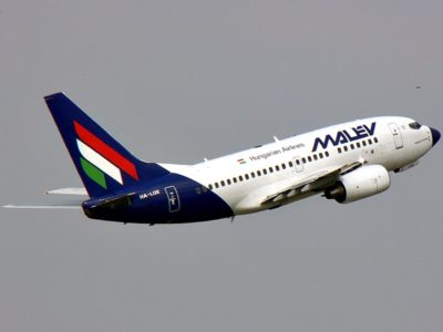 Boeing 737 dell'ungherese Malev