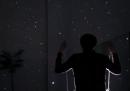 L'altalena e il cielo stellato (finto)