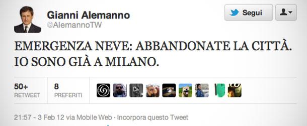 Alemanno Facebook, Twitter & MySpace on PeekYou