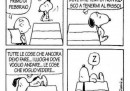 Snoopy e il tempo che corre