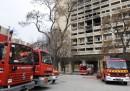 Le foto dell'incendio alla Cité Radieuse di Le Corbusier, a Marsiglia