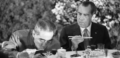 """Nixon goes to China"""