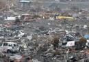 I detriti dello tsunami nel Pacifico