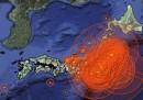 Un anno di terremoti in Giappone