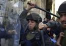Gli scontri di oggi sulla Spianata delle Moschee, a Gerusalemme