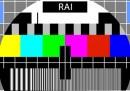 Le trasmissioni di Rai Uno, Rai Due e Rai Tre sono state interrotte per 15 minuti a causa di un guasto tecnico