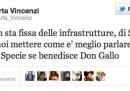 Marta Vincenzi si sfoga su Twitter