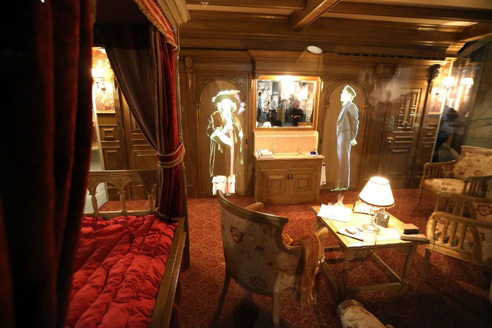 Le foto del titanic belfast il post for Ba cabina di prima classe