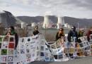Le manifestazioni contro il nucleare