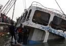Il traghetto affondato in Bangladesh