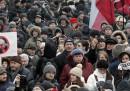 Le proteste di oggi a Mosca