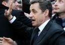I fischi contro Nicolas Sarkozy
