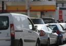 L'assalto ai benzinai nel Regno Unito
