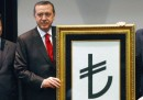 Il nuovo simbolo della lira turca