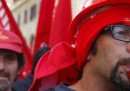 Le foto della manifestazione della FIOM a Roma