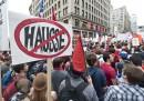 Protesta studenti Québec Canada