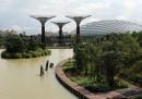 I giardini lungomare di Singapore