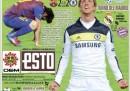 Le prime pagine dei giornali sportivi internazionali, dopo Barcellona-Chelsea