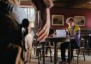 Con il laptop al saloon