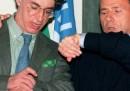 Le foto ricordo di Berlusconi e Bossi