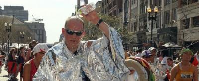 La caldissima maratona di Boston