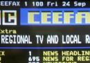 La BBC chiude il suo Televideo