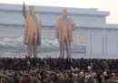 Le statue giganti in Corea del Nord