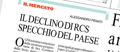 """Repubblica spiega il """"declino di RCS"""""""