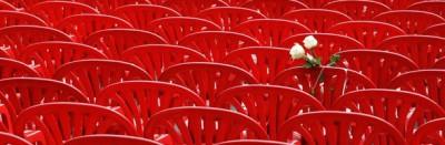 Le sedie rosse di Sarajevo