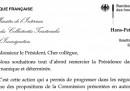 La lettera franco-tedesca sui confini UE