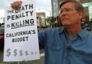La California farà un referendum sull'abolizione della pena di morte