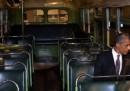 Obama sull'autobus di Rosa Parks