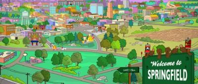 La Springfield dei Simpson è in Oregon