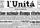 Le prime pagine sul 25 aprile 1945