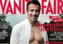 La copertina di Vanity Fair (con Alessandro Del Piero)